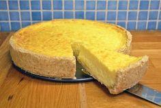 En god paj med mycket smak av Västerbottenost som med fördel kan tillagas någon dag i förväg. Lika god kall som varm.