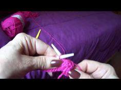 Casaquinho de bebê em tricô Parte 3 - YouTube