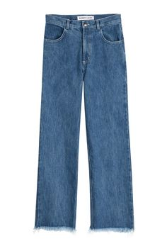 SANDY LIANG Cropped Jeans. #sandyliang #cloth #jeans