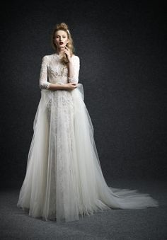 Dramatic and Beautiful Fall 2015 Wedding Dresses from Ersa Atelier