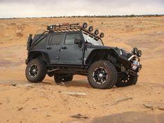 jeep wrangler sahara unlimited matte black - Google Search ...