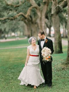 See more from this gorgeous southern wedding, featuring a lovely lace #weddingdress from Maggie Sottero.
