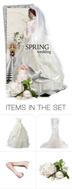 """""""Diva In White - Here Comes The Bride ♥"""" by necyluv ❤ liked on Polyvore featuring art"""
