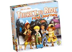 Ticket to Ride - First Journey ,   No Brand   Legetøj fra BR