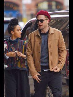 Robert Pattinson and girlfriend Tahliah Debrett in NYC 11/9/14