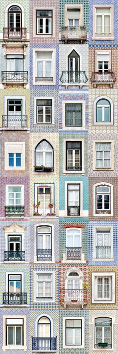 Las maravillosas fachadas portuguesas de Andre Goncalves