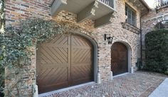 When it comes to enhancing the curb appeal of a home, there is nothing more beautiful than adding a custom wood garage door. Custom wood garage doors from Overhead Door. www.OverheadDoor.com