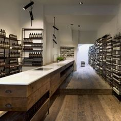 Aesop Islington by Ciguë oh, aesop, you always have the best shops. Commercial Design, Commercial Interiors, Aesop Shop, Design Comercial, Online To Offline, Retail Interior, Retail Space, Shop Interiors, Shops