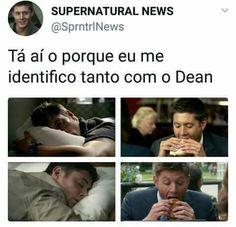 kkkkkkkkkkkk vdd kkkkk Supernatural Series, Supernatural Destiel, Spn Memes, Funny Memes, Dean Winchester, Jesen Ackles, Netflix, Lost Girl, Super Natural