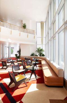 """Wie viel Hommage steckt in einem Gebäude? Communes Hotel """"The Durham"""" in der gleichnamigen Stadt in North Carolina hat jede Menge Ehrerbietung zu bieten."""