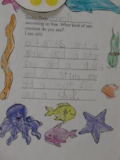 Ocean Unit writing sample