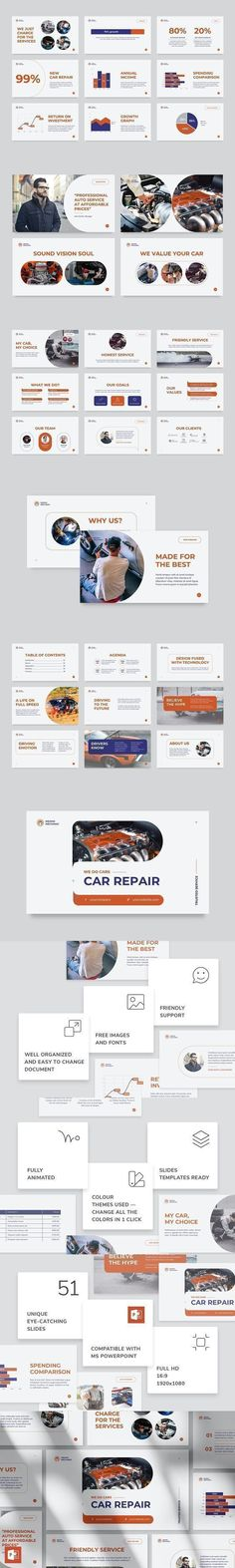 Car Repair PowerPoint Presentation