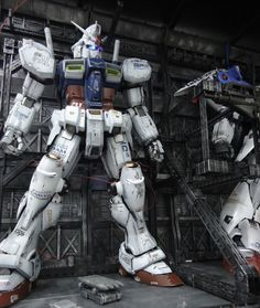 GUNDAM GUY: PG 1/60 RX-78 Gundam GP-01/Fb Hangar - Diorama Build