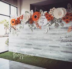 #paperflowers #wedding #backdrop #party #weddingsquare #paperflower #ดอกไม้กระดาษ #weddingdecor #weddingdesign #weddings #weddingthailand…