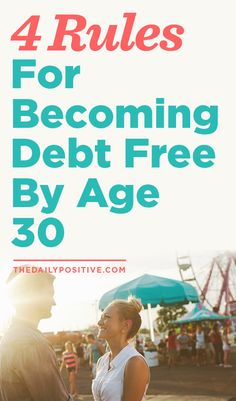 Becoming Debt Free By Age It's too late for me, but save yourself! (Working on the debt-free part. Just way past :) Debt Free Stories Debt Payoff