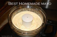 BEST Homemade Mayo