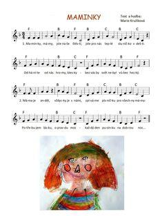 Píseň pro maminky Children, Kids, Songs, Young Children, Young Children, Boys, Boys, Song Books, Boy Babies