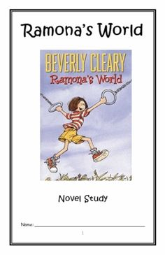 Ramona the pest by beverly cleary complete unit of reading ramonas world beverly cleary novel study reading comprehension journal fandeluxe Gallery