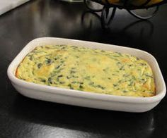 30-Minute Spinach Egg Casserole! Simple, easy, healthy, and, most importantly, delicious!