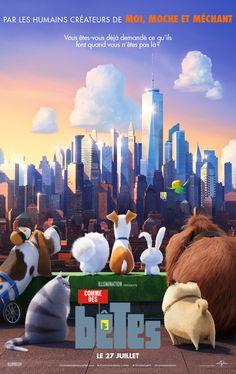 Découvrez la première bande-annonce de Comme des Bêtes, au cinéma le 27 Juillet 2016 ! Comme des bêtes, la nouvelle production animée des humains d'Illumination Entertainment, créateurs de Moi, moche et méchant et des Minions. Pour leur cinquième collaboration sur un long métrage d'animation, Universal Pictures et Illumination Entertainment présentent COMME DES BÊTES, une comédie …