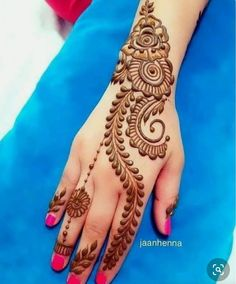 Mehndi Designs 2018, Henna Art Designs, Mehndi Designs For Beginners, Mehndi Design Photos, Mehndi Designs For Fingers, Beautiful Mehndi Design, Mehandi Designs, Henna Designs For Kids, Pretty Henna Designs