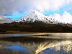 Cotopaxi National Park- part of the Andes Mountain Range Ecuador