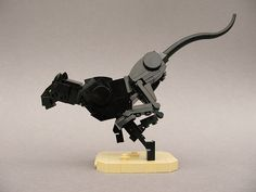 Sprint (side) | Lego Black Panther at full sprint. Another c… | Flickr