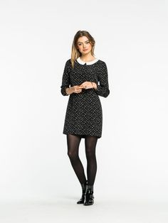 French Party Dress by Scotch and Soda  Another autumn/winter collar idea.