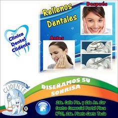 Rellenos Dentales! Dentista El Salvador