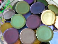 Our gorgeous hand painted peanut butter cups, customized to your wedding or event