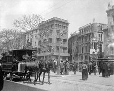 Rambla Catalunya, any 1900.  #Barcelona #Catalonia #Europe