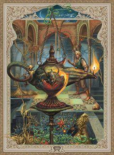 "illustrations for the book of ""Arabian tales"" on Behance Classic Art, Oriental Art, Arabian Art, Fantasy Art, Deep Art, Art, Night Art, Night Illustration, Muse Art"