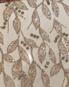 Terrific Images zardozi Embroidery Designs Thoughts Zardozi – Her Crochet Zardozi Embroidery, Hand Embroidery Dress, Embroidery Neck Designs, Tambour Embroidery, Bead Embroidery Patterns, Couture Embroidery, Bead Embroidery Jewelry, Beaded Embroidery, Couture Beading