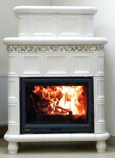 kominek kaflowy piec wolnostojący Wood Burning, Kitchen Appliances, Stoves, Fireplaces, Design, Home Decor, Living Room, Diy Kitchen Appliances, Fireplace Set