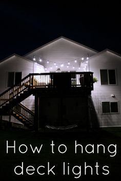 How to Hang Deck Lights On Poles #EnbrightenLife @jascoproducts [ad]
