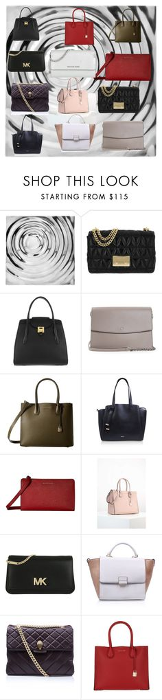 """PURSES & CLUTCHES - WHERE DO I BEGIN"" by carriearmstrong269 ❤ liked on Polyvore featuring Modern Day Accents, MICHAEL Michael Kors, Michael Kors, Tory Burch, Nine West and Kurt Geiger"