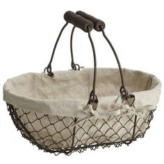 Bridgeport Oval Basket, perfect bread basket~ Pier 1 Imports