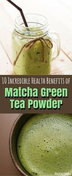 Matcha Green Tea Powder has been listed as one of the top 10 health trends in 2016! One serving has the nutrition equivalent of 10 cups of green tea! http://avocadu.com/10-incredible-health-benefits-of-matcha-green-tea-powder/
