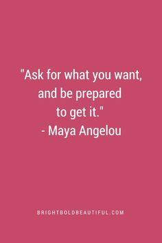 Maya Angelou quote.
