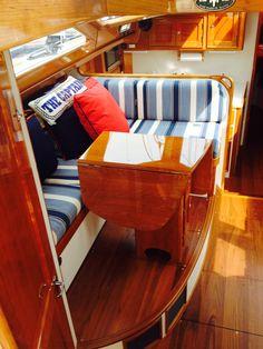 Pt dinette custom boat interior