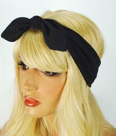 Turban Bow Headband Bow Headband by JuicyBows
