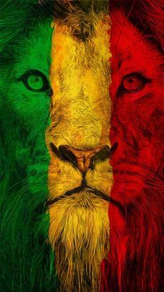 The History and Rise of the Rastafari Religion and Movement explained with the Black African History Rastafari video documentary: Roaring Lion Image Bob Marley, Bob Marley Art, Bob Marley Colors, Bob Marley Lion, Art Rasta, Lion Rasta, Bob Marley Pictures, Lion Pictures, Fotos Do Bob Marley