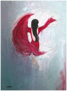 The Dancer - Acrylic Painting