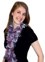 ruffled scarf with step by step directions on how to make... so am going to try to make one... they are too cute