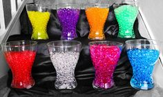 1 PACK AQUA WATER CRYSTALS FOR FISH BOWL WEDDING TABLE DECORATION GLASS VASES
