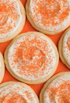 Orange Creamsicle Sugar Cookies - Cooking | http://decorated-cookies-drake.blogspot.com
