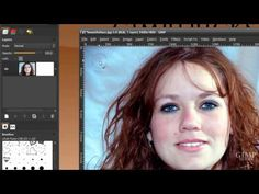 Remove the background from hair in GIMP - tutorial (Cut out hair) - YouTube