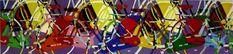 "Saatchi Art Artist TRAFIC D'ART; Painting, ""Cubist Bikes 122 Violet"" #art Is 11, Saatchi Art, Latex, Original Paintings, Bike, Wood, Outdoor Decor, Artist, Bicycle"