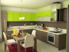 kitchen cabinet and wall colors