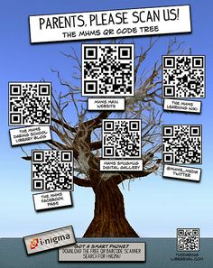 The Daring Librarian: QR Code Scanning for Parents